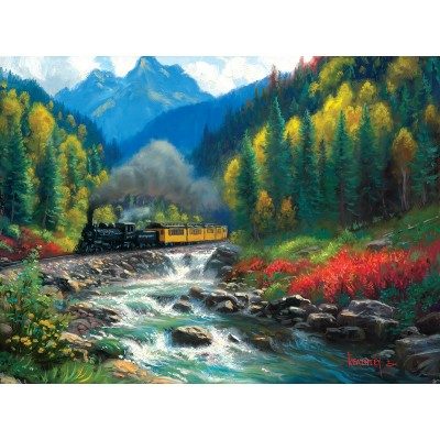 Puzzle  Sunsout-53009 Mark Keathley - Durango Silverton