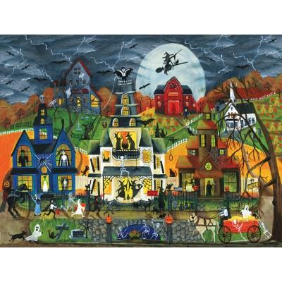 Puzzle  Sunsout-54758 XXL Teile - Cheryl Bartley - Spooky Street