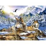 Puzzle  Sunsout-54929 XXL Teile - Snow Wolf