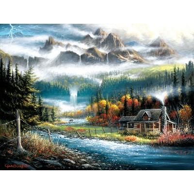 Puzzle  Sunsout-55125 XXL Teile - Valley Paradise