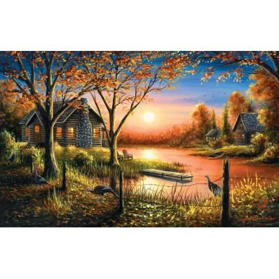 Puzzle  Sunsout-55140 Chuck Black - Glorious Sunset