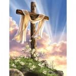 Puzzle  Sunsout-57111 Dona Gelsinger - He is Risen