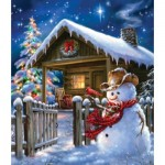 Puzzle  Sunsout-57148 Dona Gelsinger - Christmas Cheer