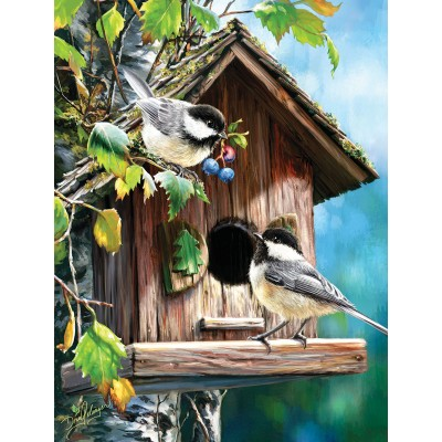 Puzzle  Sunsout-57172 XXL Teile - At Home Sweet Home