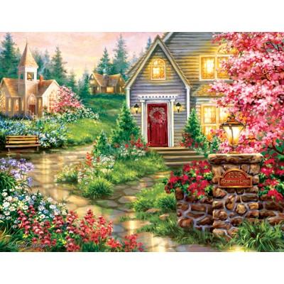 Puzzle  Sunsout-57225 XXL Teile - Dona Gelsinger - Serenity Lane