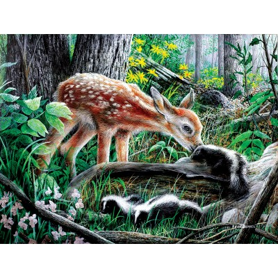 Puzzle  Sunsout-57776 XXL Teile - Friends of the Forest