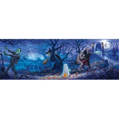 Puzzle  Sunsout-59199 XXL Teile - Halloween Scene