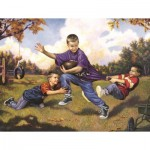 Puzzle  Sunsout-59701 XXL Teile - Game Day