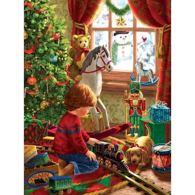 Puzzle  Sunsout-59801 XXL Teile - Boyhood Christmas