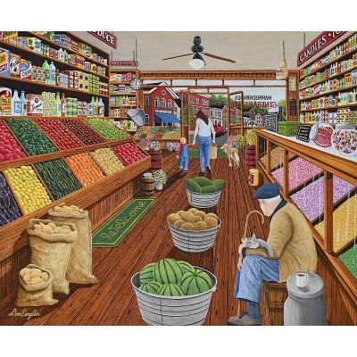 Puzzle Sunsout-60338 XXL Teile - The Shop Keeper
