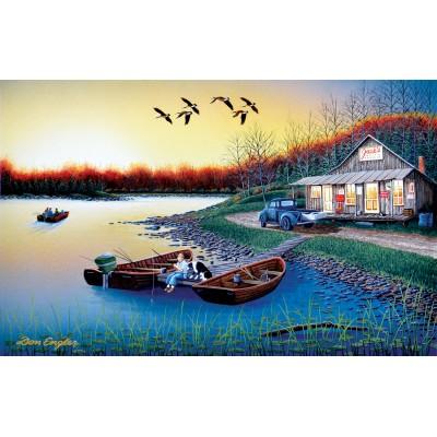 Puzzle  Sunsout-60370 Don Engler - Jack's Place