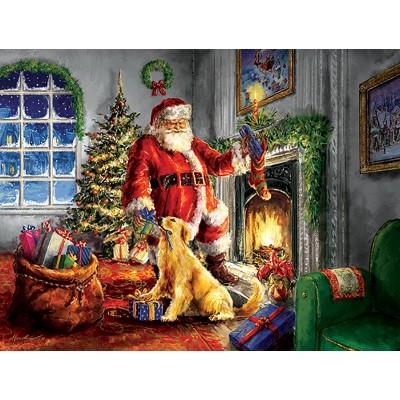 Puzzle  Sunsout-60620 XXL Teile - Helping Santa