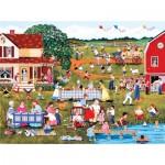 Puzzle  Sunsout-61350 Sheila Lee - Annual Family Reunion