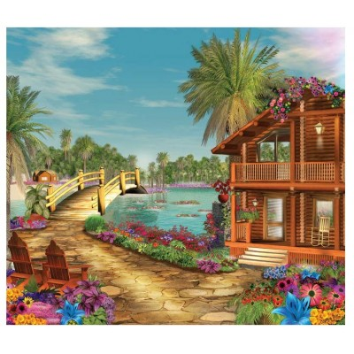Puzzle  Sunsout-61559 XXL Teile - Island Dreams