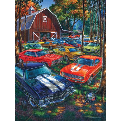 Puzzle  Sunsout-61765 XXL Teile - There's Always Room for One More