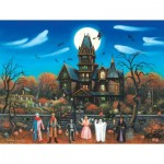 Puzzle  Sunsout-62171 XXL Teile - Trick or Treaters Beware