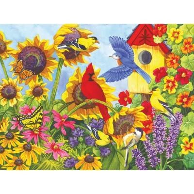 Puzzle  Sunsout-62925 XXL Teile - Backyard Beauties