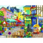 Puzzle  Sunsout-62986 Nancy Wernersbach - French Market