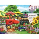 Puzzle  Sunsout-63016 XXL Teile - Nancy Wernersbach - Farm Stand Bounty