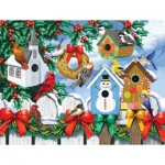 Puzzle  Sunsout-63036 XXL Teile - Winter Backyard