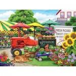 Puzzle  Sunsout-63038 Nancy Wernersbach - Farm Stand Bounty