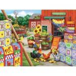 Puzzle  Sunsout-63063 Nancy Wernersbach - Quilts