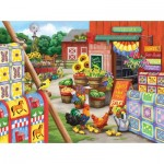 Puzzle  Sunsout-63066 Nancy Wernersbach - Quilts