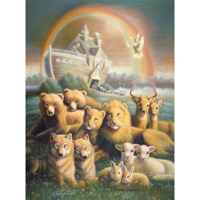Puzzle  Sunsout-66024 William Clayton Hallmark - The Promise
