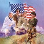 Puzzle  Sunsout-67112 XXL Teile - The Armed Forces