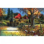 Puzzle  Sunsout-67393 Jim Hansel - Country Roadside