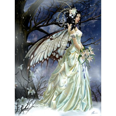 Puzzle  Sunsout-67619 Nene Thomas - Mist Bride