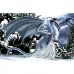 Puzzle  Sunsout-67696 Nene Thomas - Ice Dragon