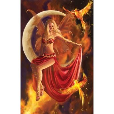 Puzzle  Sunsout-67714 Fire Moon