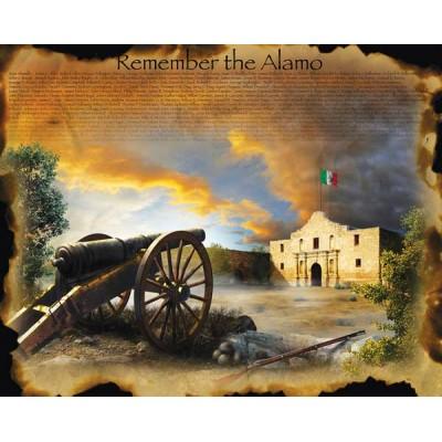 Puzzle  Sunsout-67952 XXL Teile - Jim Todd - Remember the Alamo