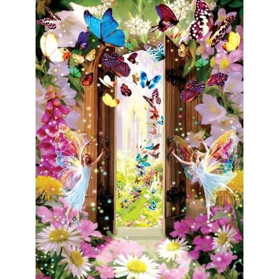 Puzzle  Sunsout-68010 Garry Walton - Fairy Door