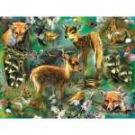 Puzzle  Sunsout-68022 XXL Teile - Forest Critters