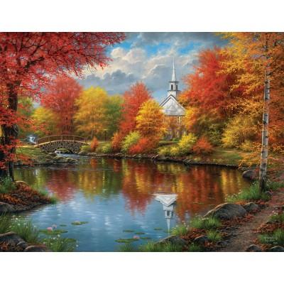 Puzzle  Sunsout-69606 XXL Teile - Abraham Hunter - Autumn Tranquility