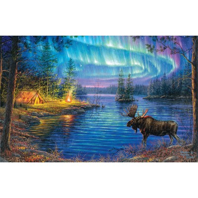 Puzzle  Sunsout-69632 Abraham Hunter - Northern Night
