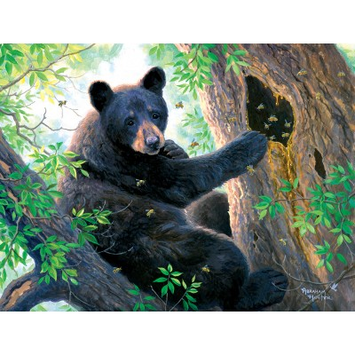 Puzzle  Sunsout-69644 XXL Teile - Honey Thief