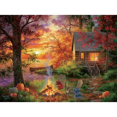 Puzzle Sunsout-69676 XXL Teile - Abraham Hunter - Sunset Serenity