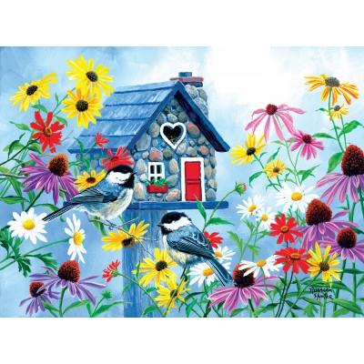 Puzzle Sunsout-69726 Abraham Hunter - Tweet Hearts Cottage