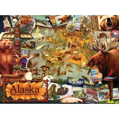 Puzzle  Sunsout-70016 Ward Thacker Studio - Alaska, The Final Frontier