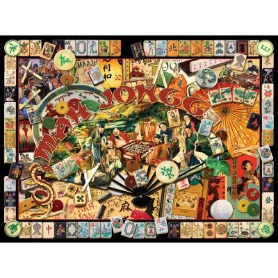 Puzzle  Sunsout-70041 Kate Ward Thacker - Mah Jongg Masters