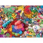 Puzzle  Sunsout-70047 Kate Ward Thacker - The Artful Needle