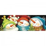 Puzzle  Sunsout-70136 XXL Teile - Merry Folks Greeting You