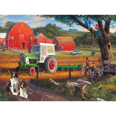 Puzzle  Sunsout-70957 XXL Teile - The Farm