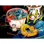 Puzzle  Sunsout-71046 XXL Teile - Let's Knit