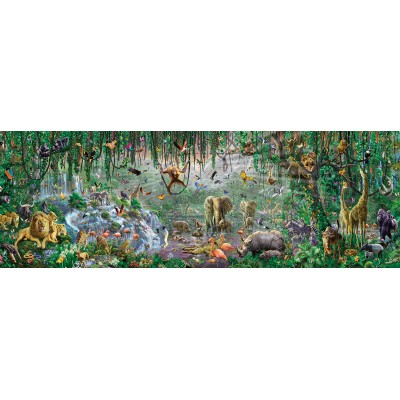 Puzzle  Sunsout-71610 XXL Teile - Adrian Chesterman - African Mural