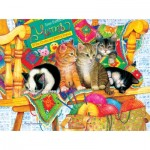 Puzzle  Sunsout-71991 Amy Rosenberg - Knit Wits