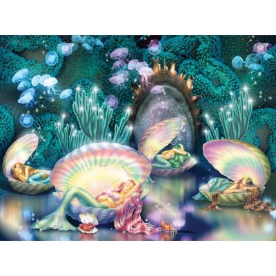 Puzzle  Sunsout-75024 Zorina Baldescu - Sleeping Mermaids